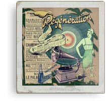 Regeneration Retro Affiche Metal Print