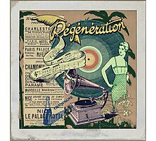Regeneration Retro Affiche Photographic Print