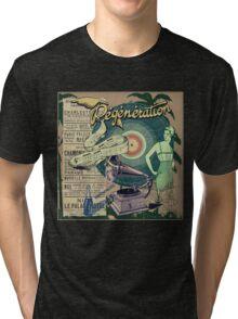Regeneration Retro Affiche Tri-blend T-Shirt
