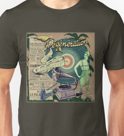 Regeneration Retro Affiche Unisex T-Shirt