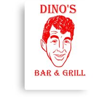 DINO'S BAR & GRILL Canvas Print