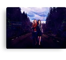 Do you believe in magic? (SwanQueen)  Canvas Print
