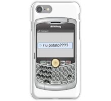 Neutral text Hotel iPhone Case/Skin