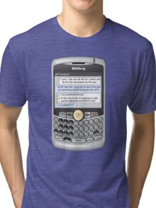 Neutral text Hotel Tri-blend T-Shirt