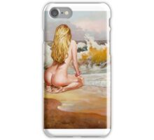 I wait for the waves, not the ship iPhone Case/Skin