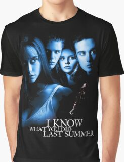I Know What You Did Last Summer Graphic T-Shirt