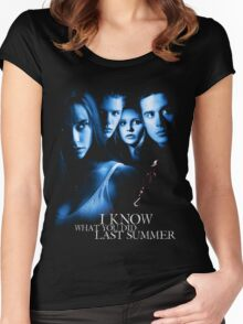 I Know What You Did Last Summer Women's Fitted Scoop T-Shirt