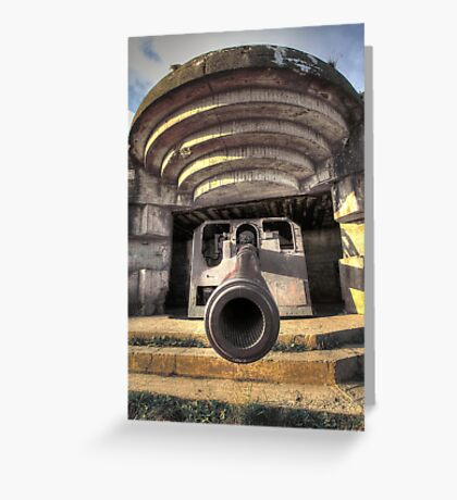 Cannon Greeting Card