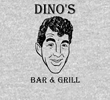 DINO'S BAR & GRILL Womens Fitted T-Shirt