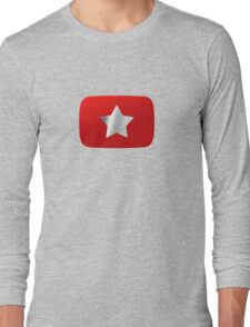 Youtube star. Exclusive logo Long Sleeve T-Shirt