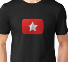 Youtube star. Exclusive logo Unisex T-Shirt