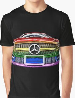 MERCEDES BENZ AMG_ GAY Version Graphic T-Shirt