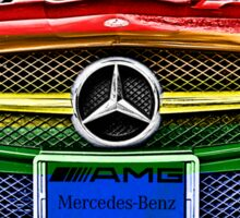 MERCEDES BENZ AMG_ GAY Version Sticker