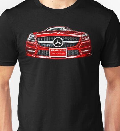 RED MERCEDES BENZ AMG_edited Unisex T-Shirt