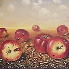 Red apples by dusanvukovic