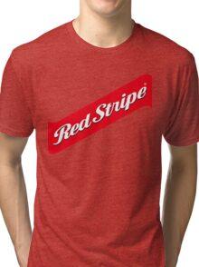 RED STRIPE BEER LAGER Tri-blend T-Shirt