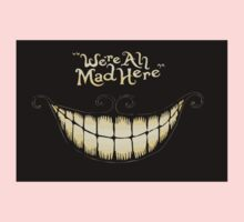Alice-We're all mad here One Piece - Long Sleeve