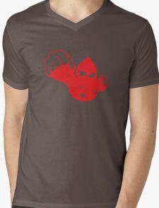 Ultraman 3 Mens V-Neck T-Shirt