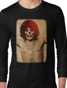 THE MISFITS JIM MORRISON Mash Up (Vintage/black) Long Sleeve T-Shirt