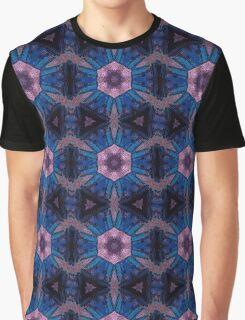 Mosaic TARDIS Kaleidoscope Graphic T-Shirt