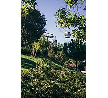Cable Car Montjuic Photographic Print