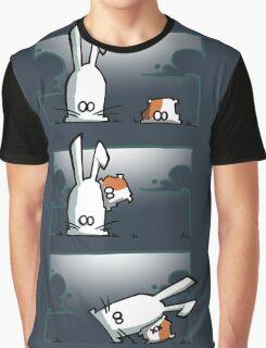 Bunny vs. Hamster Graphic T-Shirt