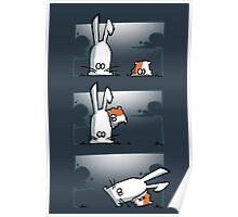 Bunny vs. Hamster Poster
