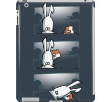 Bunny vs. Hamster iPad Case/Skin