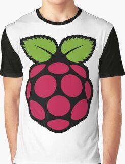 Rasberry pi symbol Graphic T-Shirt
