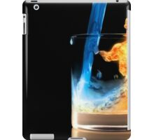 Ice and Fire Drink iPad Case/Skin