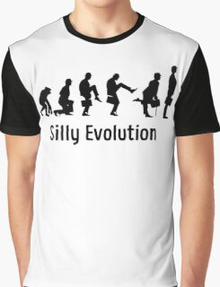 Python Silly Walk Evolution T Shirt Graphic T-Shirt
