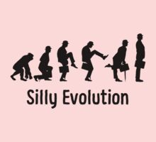 Python Silly Walk Evolution T Shirt One Piece - Short Sleeve