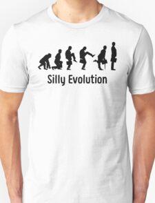 Python Silly Walk Evolution T Shirt T-Shirt