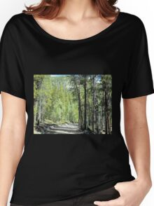 Winding Rural Road Women's Relaxed Fit T-Shirt