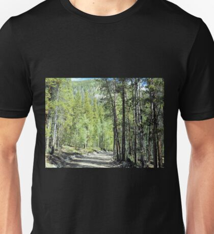 Winding Rural Road Unisex T-Shirt