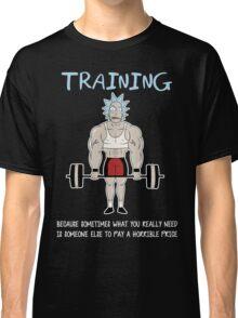 Rick Sanchez Training Classic T-Shirt