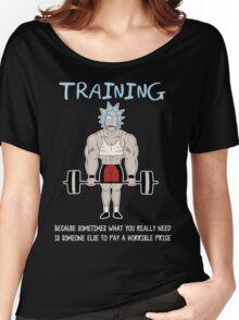 Rick Sanchez Training Women's Relaxed Fit T-Shirt