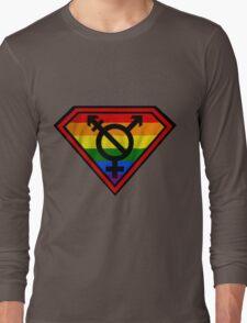 Super Gay Hero _ symbol version Long Sleeve T-Shirt
