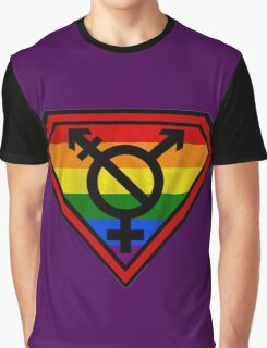Super Gay Hero _ symbol version Graphic T-Shirt