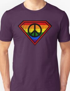 SUPER GAY HERO _peace & love version T-Shirt
