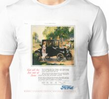 1925 Ford Ad, Ladies' Home Journal Unisex T-Shirt