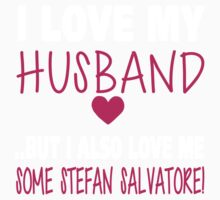 TVD. Love Me Some Stefan Salvatore. One Piece - Short Sleeve
