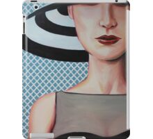 hat girl iPad Case/Skin