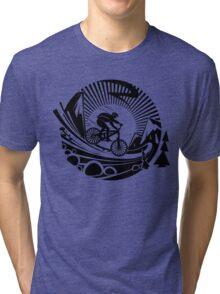 Mountain Bike! Tri-blend T-Shirt