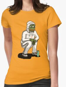 sadboy pepe Womens Fitted T-Shirt