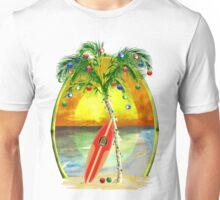 Beach Christmas Unisex T-Shirt