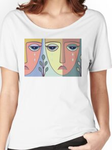 FACES #8 Women's Relaxed Fit T-Shirt
