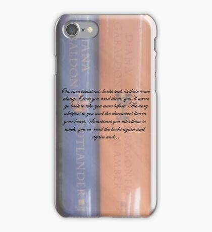 Thoughts on the Outlander books. iPhone Case/Skin