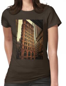 city architecture Womens Fitted T-Shirt