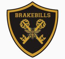 Crossed keys Brakebills Crest Large Kids Tee